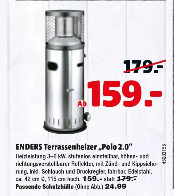 "Hagebaumarkt Enders Terrassenheizer ""polo 2.0"""