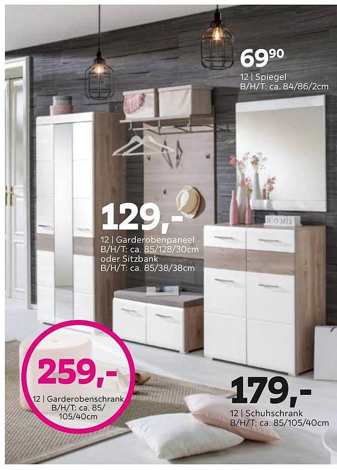 Mömax Spiegel, Garderobenschrank, Schuhschrank Oder Garderobenpaneel