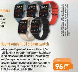 ALDI Nord Huami Amazfit Gts Smartwatch