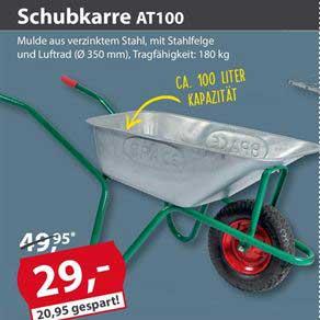 Sonderpreis Baumarkt Schubkarre At100