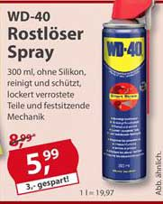Sonderpreis Baumarkt Wd-40 Rostlöser Spray