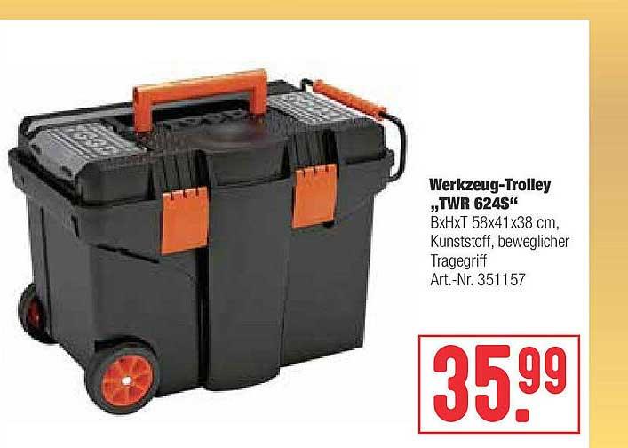"""Hellweg Werkzeug-trolley """"twr 624s"""""""