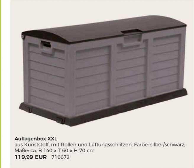 BBM Baumarkt Auflagenbox Xxl