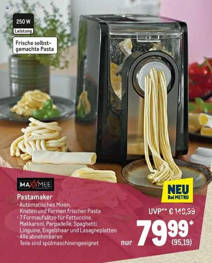 METRO Maxxmee Pastamaker