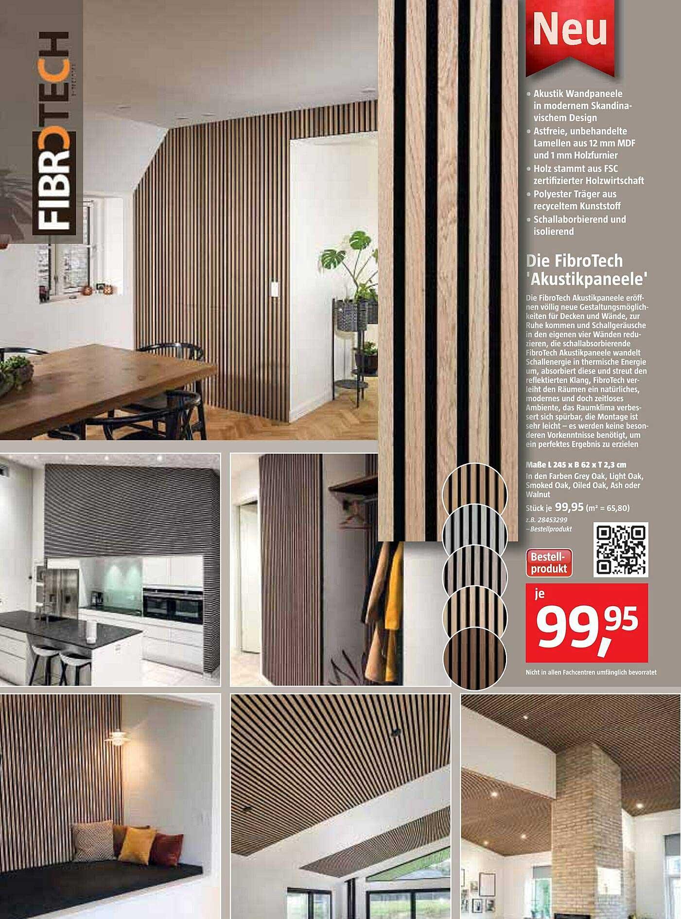 Bauhaus Die Fibrotech 'akustikpaneele'
