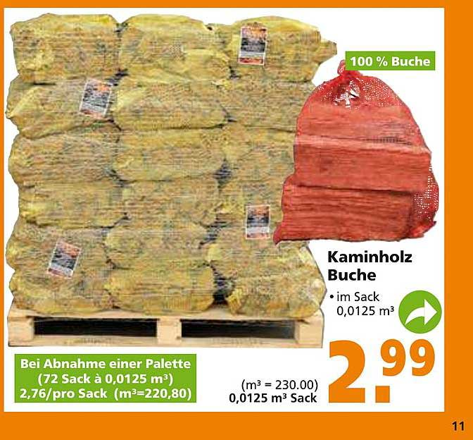 Globus Baumarkt Kaminholz Buche