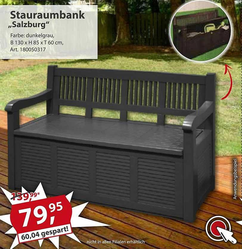 "Sonderpreis Baumarkt Stauraumbank ""salzburg"""