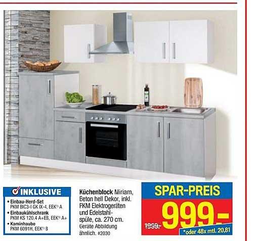 Möbelpiraten Küchenblock Miriam