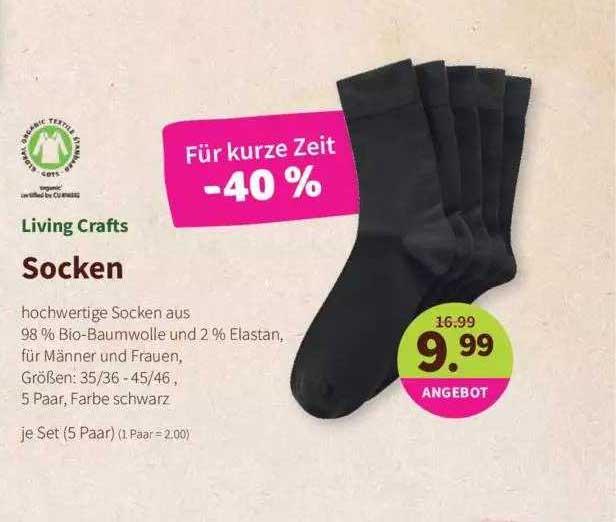Denns Biomarkt Living Craft Socken