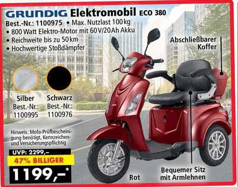 Norma24 Grundig Elektromobil Eco 380