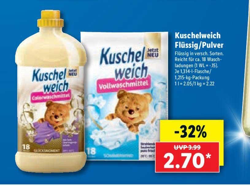 Lidl Kuschelweich Flüssig-pulver