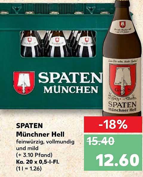Kaufland Spaten Münchner Hell