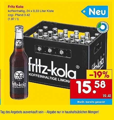 Netto Marken-Discount Fritz Kola