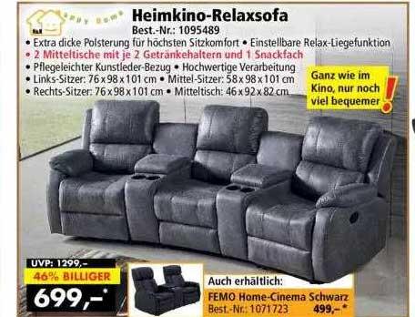 Norma24 Happy Home Heimkino-relaxsofa