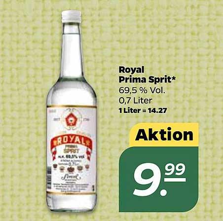 Netto Royal Prima Sprit