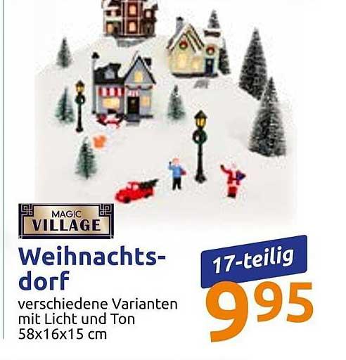 Action Magic Village Weihnachtsdorf