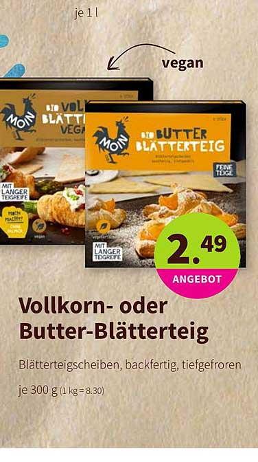 BioMarkt Vollkorn Oder Butter Blätterteig