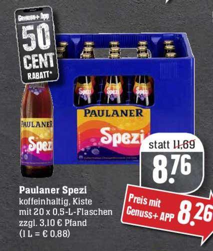 EDEKA Paulaner Spezi
