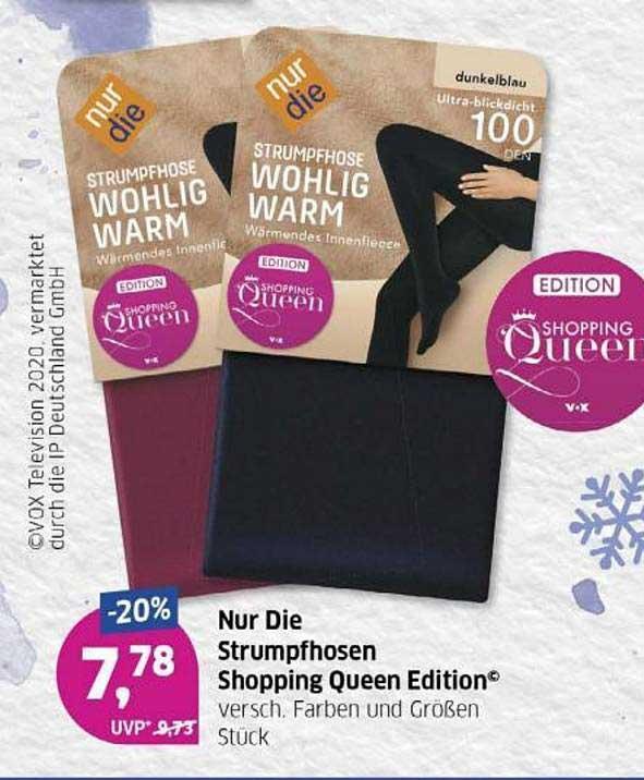 Budni Nur Die Strumpfhosen Shopping Queen Edition