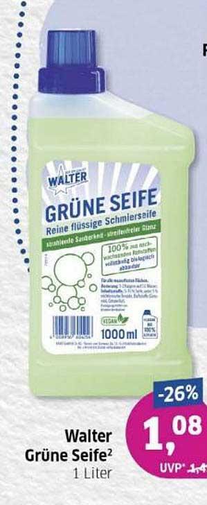 Budni Walter Grüne Seife