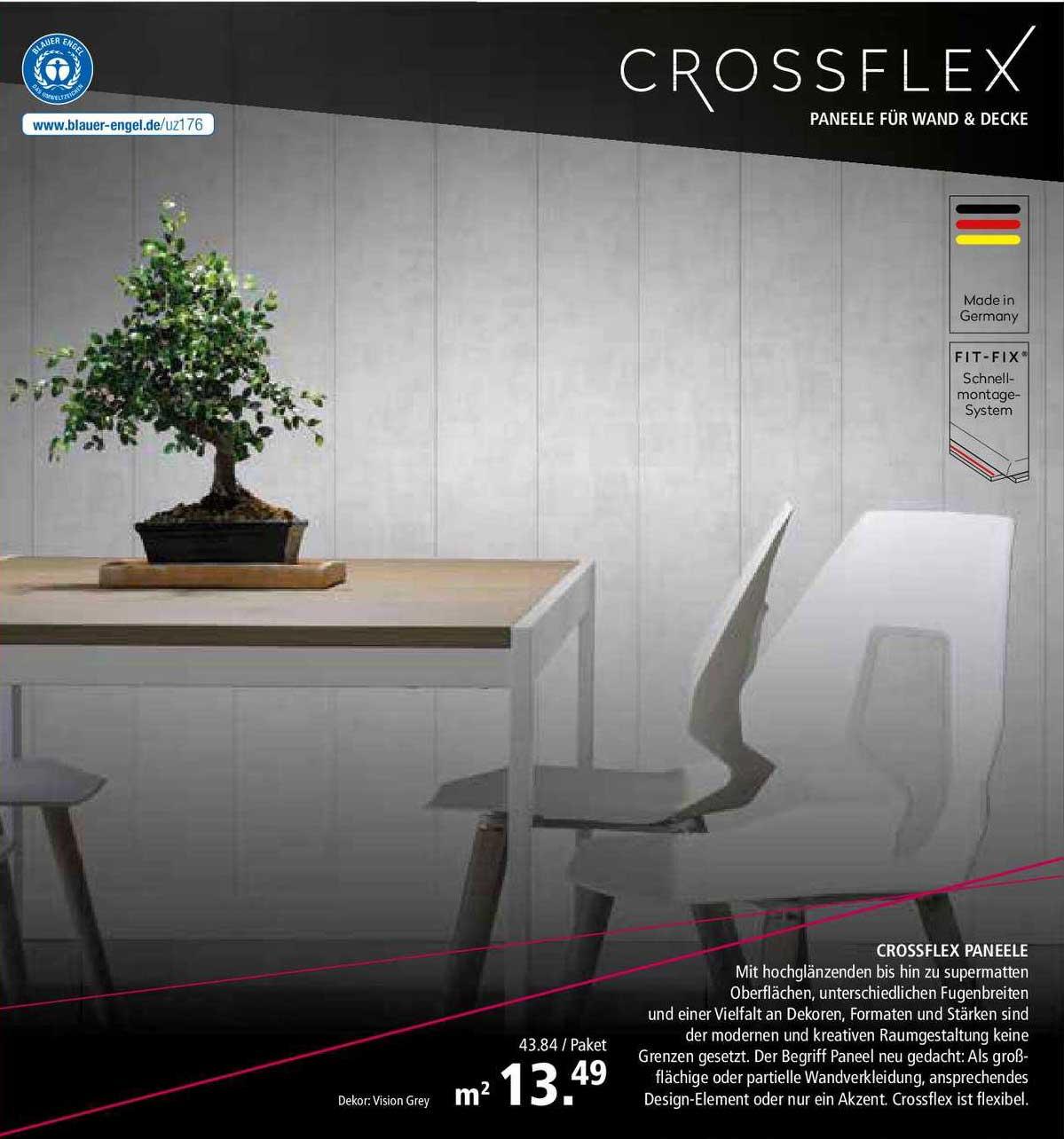 BauSpezi Crossflex Paneele