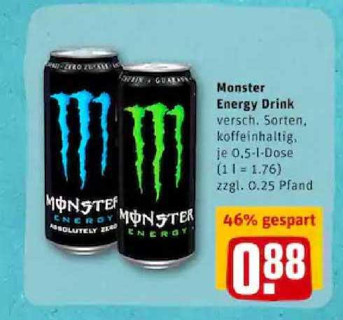 REWE Monster Energy Drink