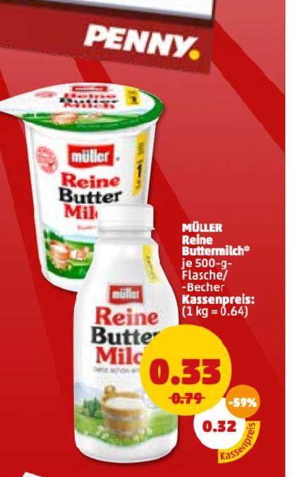 Penny Müller Reine Buttermilch
