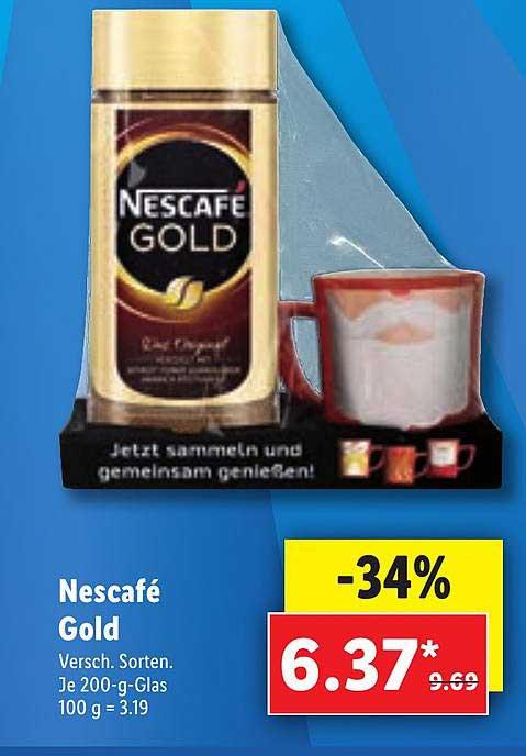 Lidl Nescafé Gold