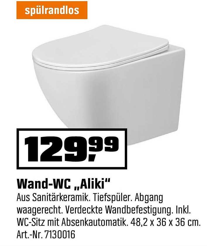 "OBI Wand Wc ""aliki"""