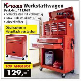 Norma24 Kc Tools Werkstattwagen