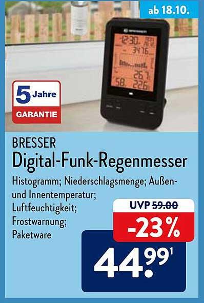 ALDI Nord Digital-funk-regenmesser
