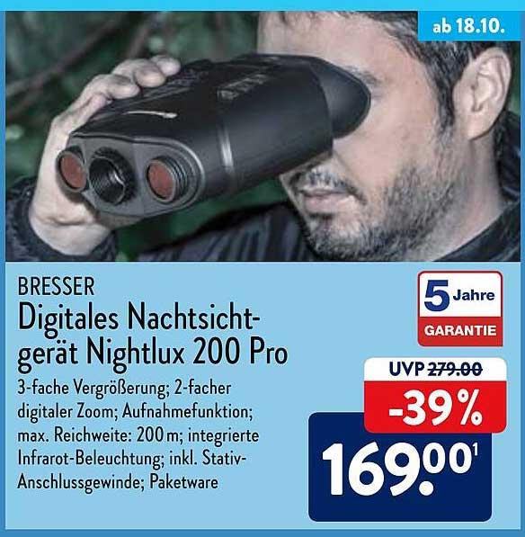 ALDI Nord Digitales Nachtsicht-gerät Nightlux 200 Pro