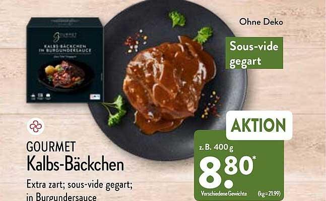 ALDI Nord Gourmet Kalbs-bäckchen