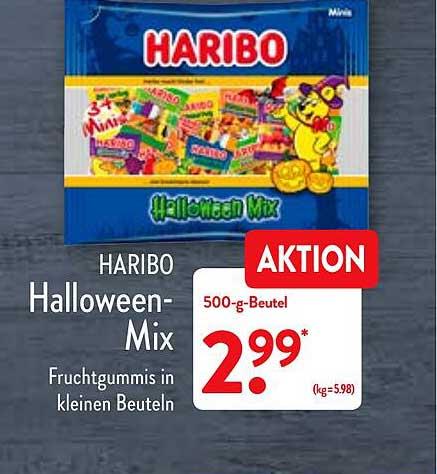 ALDI Nord Haribo Halloween-mix