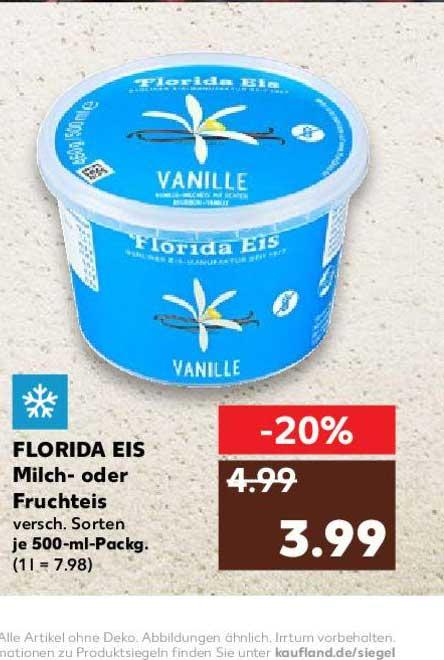 Kaufland Florida Eis