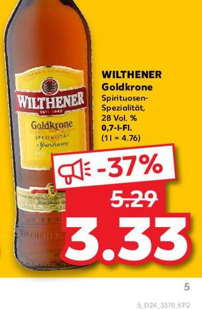 Kaufland Wilthener Goldkrone