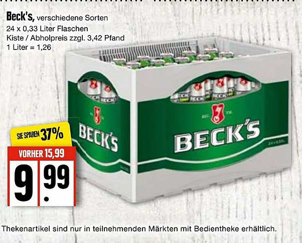 EDEKA Beck's