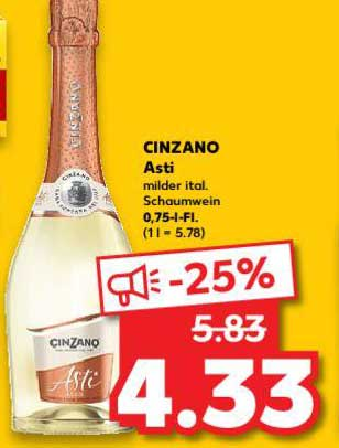 Kaufland Cinzano Asti