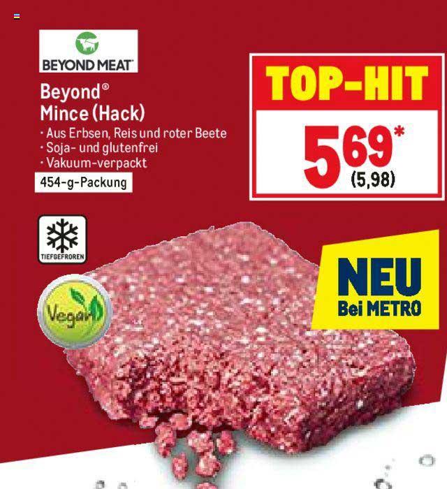 METRO Beyond Meat Beyond Mince (hack)