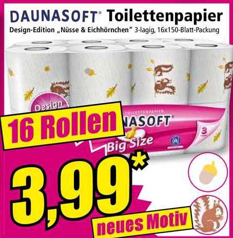 NORMA Daunasoft Toilettenpapier