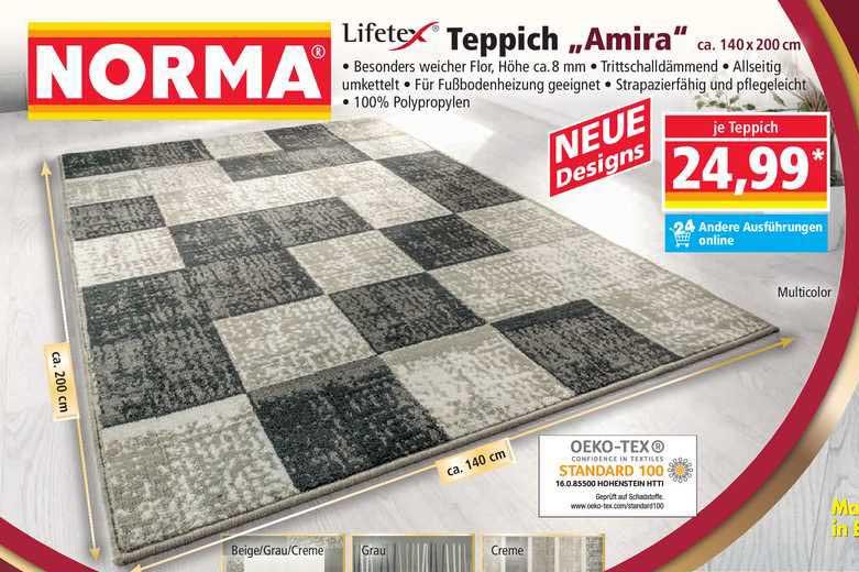 "NORMA Lifetexx Teppich ""amira"""