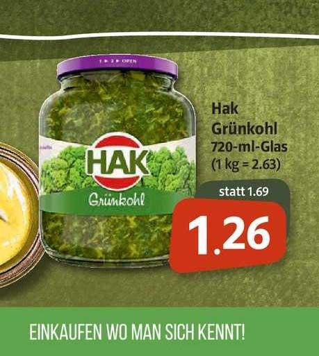 Markant Markt Hak Grünkohl