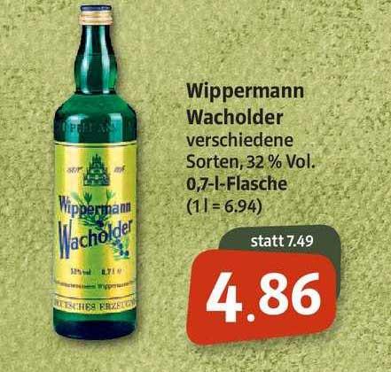 Markant Markt Wippermann Wacholder