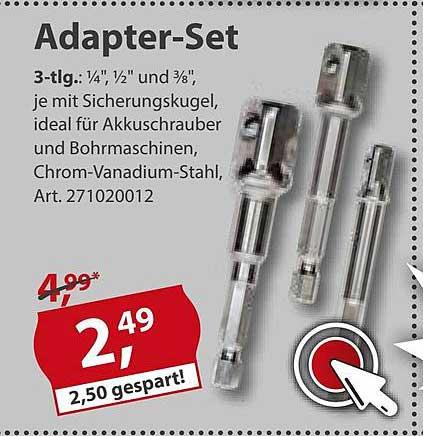 Sonderpreis Baumarkt Adapter-set