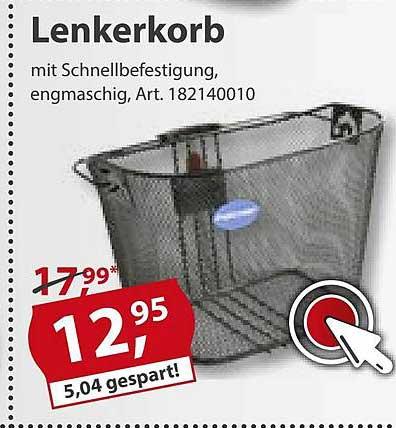 Sonderpreis Baumarkt Lenkerkorb