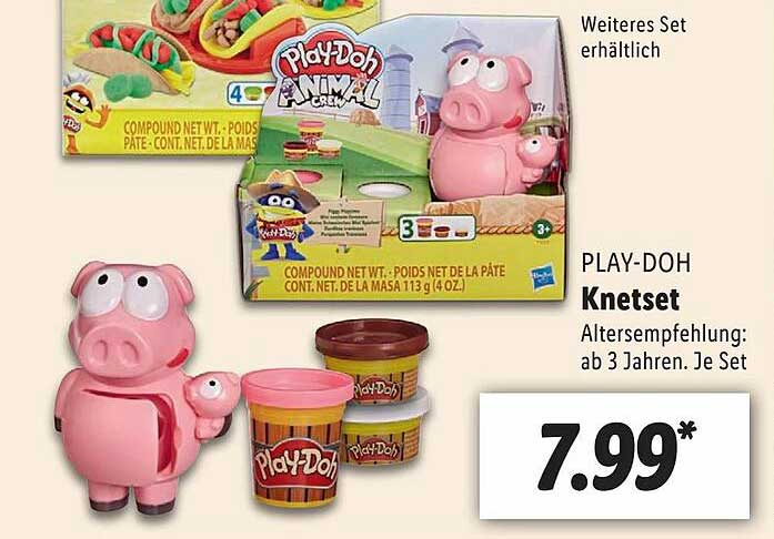 Lidl Play-doh Knetset
