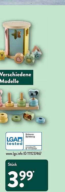 ALDI Nord Verschiedene Modelle