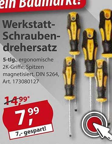 Sonderpreis Baumarkt Werkstatt-schraubendrehersatz