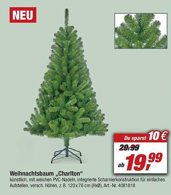 """Toom Baumarkt Weihnachtsbaum """"charlton"""""""