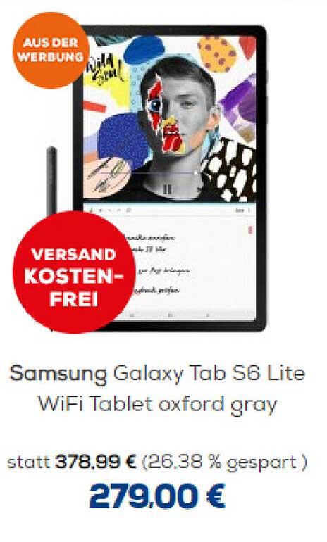 Euronics Samsung Galaxy Tab S6 Lite
